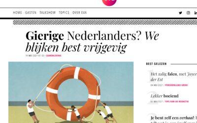 Gierige Nederlanders? We blijken best vrijgevig